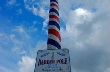 A História Antiga do Barber Pole ou Poste de Barbeiro - Instituto Ávila Escola de Barbearia